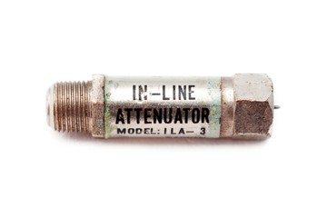 close up image of a attenuator