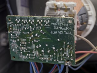 circuit board of television