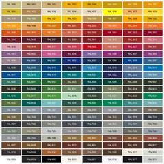 RAL-Farbtafel