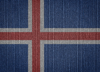 fabric flags Iceland