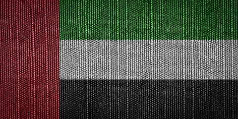 United Arab Emirates fabric flags