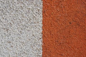 Семеричный контрастный рисунок на железном заборе