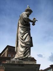 Details vom Petersdom Basilica Papale di San Pietro in Vaticano