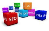 Fototapety Web Design And Seo
