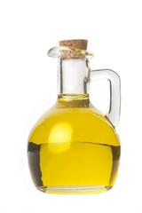 Extra virgin olive oil isolaled