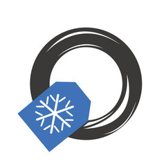 Pneumatico invernale da neve automobile