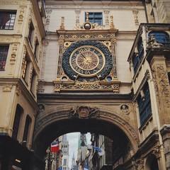 Rouen Gros Holrage Clock