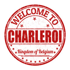 Welcome to Charleroi stamp