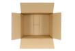 Plain cardboard box - 77770828