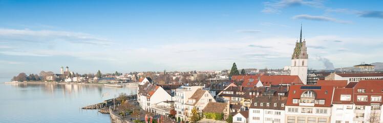 Skyline of Friedrichshafen, Germany