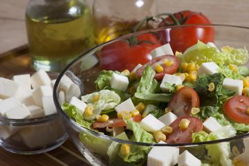Salad - Stock Image