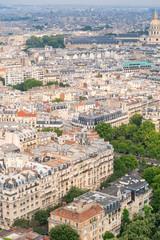 Paris, France. Beautiful city aerial skyline