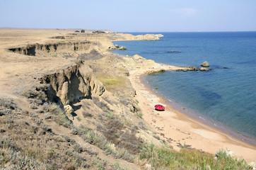 Bay on the South coast of the Kerch Peninsula