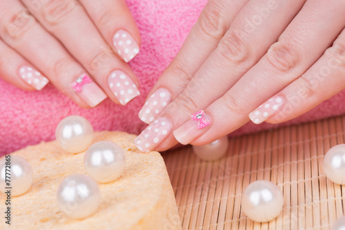 Manicure treatment © tamara83