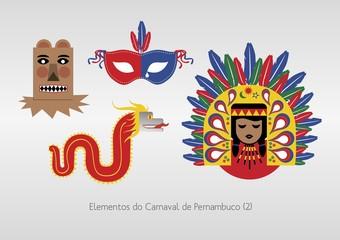 Elementos do Carnaval de Pernambuco (2)