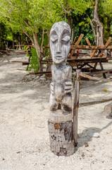 Statue, French Polynesia