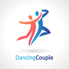 Dancing Couple Vector Symbol