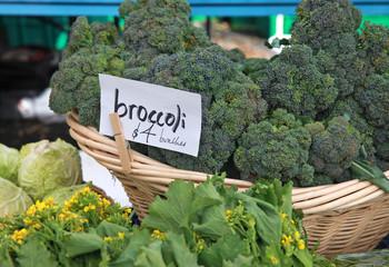 farmer's market broccoli