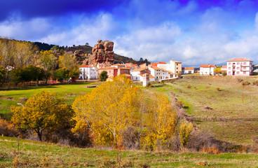 Alto Tajo in autumn, Spain