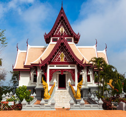 Bhuddist temple (Wat) in Mae Salong, Thailand.