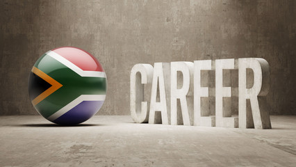 South Africa. Career  Concept