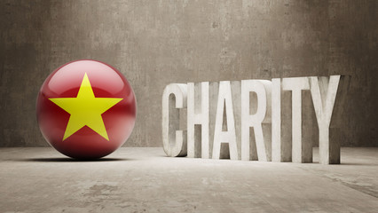 Vietnam. Charity  Concept