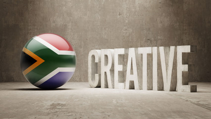 South Africa. Creative  Concept