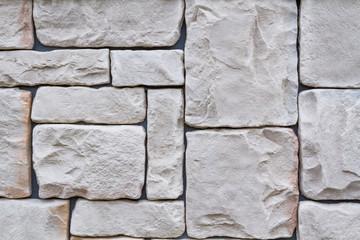 石の模様 城壁  Design of the tile