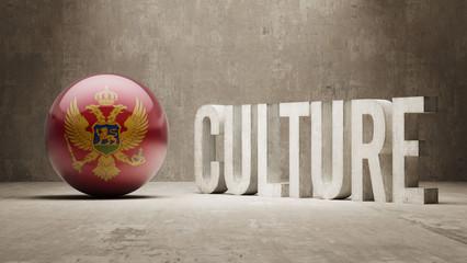 Montenegro. Culture  Concept