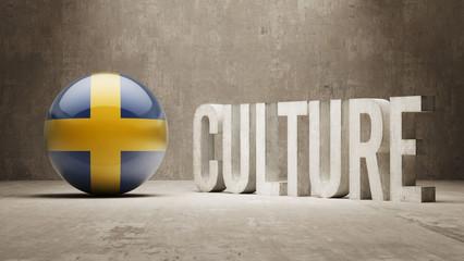 Sweden. Culture  Concept