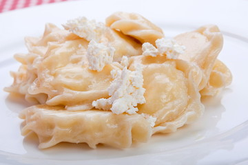 Dumpling with cottage cheese