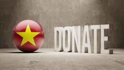 Vietnam. Donate  Concept