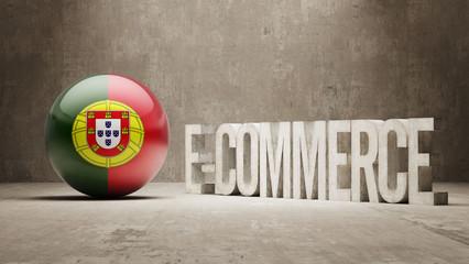 Portugal. E-Commerce  Concept.