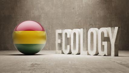 Bolivia. Ecology  Concept.