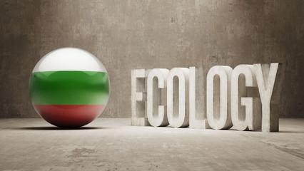 Bulgaria. Ecology  Concept.