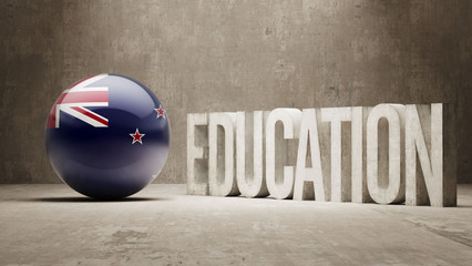 New Zealand Education Concept