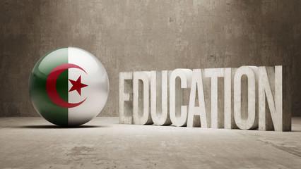 Algeria Education Concept