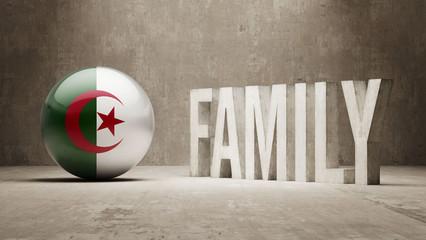 Algeria. Family  Concept.