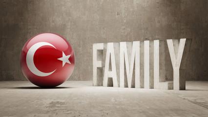 Turkey. Family  Concept.