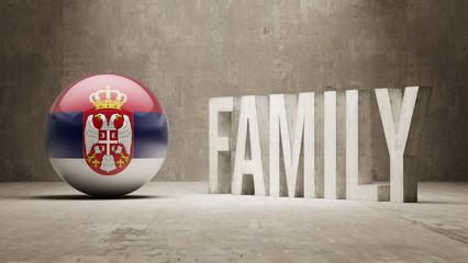Serbia. Family  Concept.