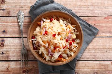 Sauerkraut with onion
