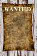 canvas print picture - Wanted