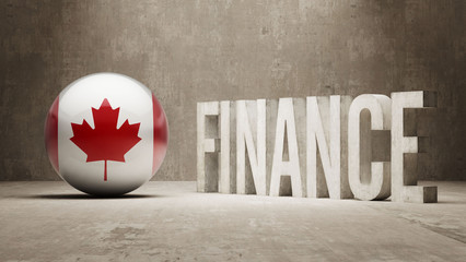 Canada. Finance  Concept.
