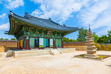 Naksansa (Korean Temple) in Sokcho, South Korea
