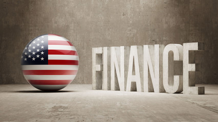 United States. Finance  Concept.