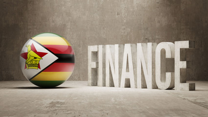 Zimbabwe. Finance  Concept.
