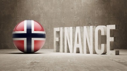 Norway. Finance  Concept.