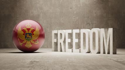 Montenegro. Freedom Concept
