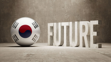 South Korea. Future  Concept.