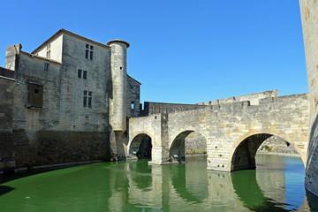 Brücke in die Festungsstadt Aigues-Mortes